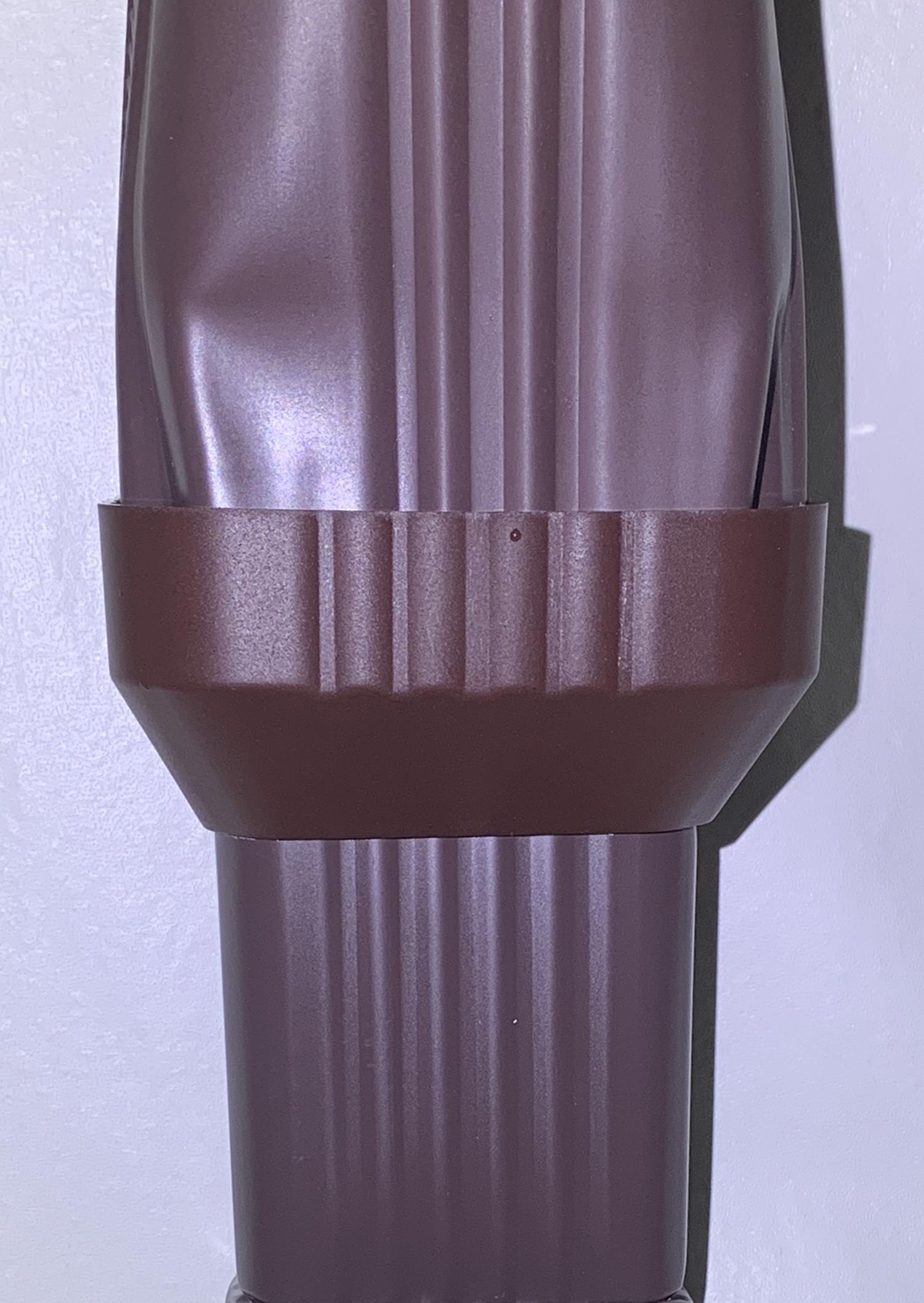 3x4 To 2x3 Gutter Downspout Reducer Downspout To Downspout Adapters Abpdsadptr 3423 Btm Aquabarrel Com Rain Barrels Downspout Diverters And Filters Rain Barrel Kits Aquabarrel R