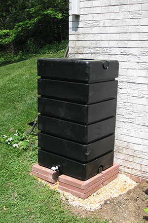 Installation RainBox rainbarrel