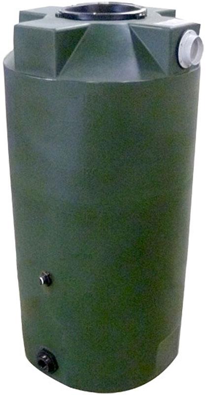 100 Gallon Tall Round Rain Barrels Abprb Pm 100