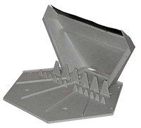 Downspout Splash Block Diffuser See inside